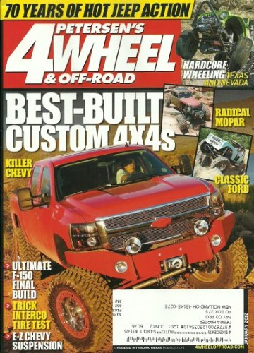 Petersen's 4 Wheel & Off Road Magazine January 2012 Best-Built Custom 4x4s