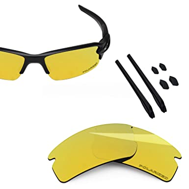 c0d3b2425e BlazerBuck Anti-salt Polarized Replacement Lenses   Sock Kit for Oakley  Flak 2.0-24K