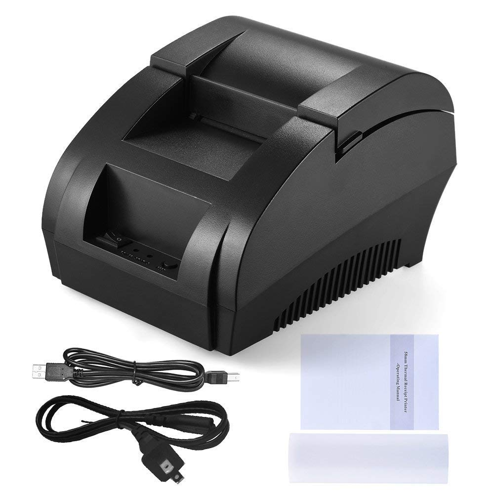 58MM USB Thermal Receipt Printer,High Speed Printing 90mm/sec, Compatible with ESC/POS Print Commands Set by RetailPOZ