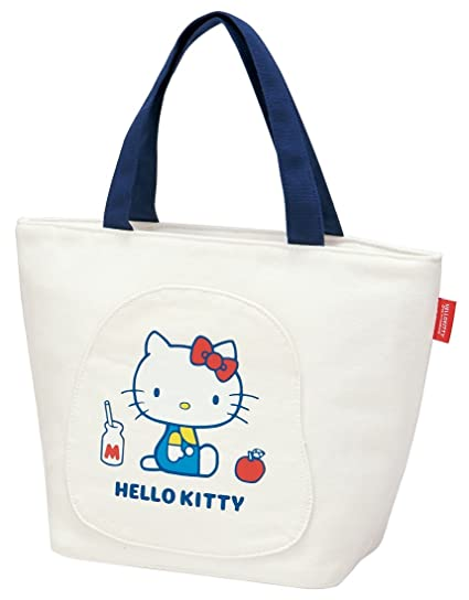 1dd44dc29 Image Unavailable. Image not available for. Color: Skater canvas Cooler  tote bag Hello Kitty ...