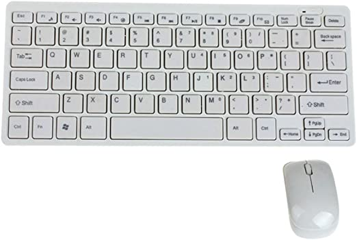 beIilan Ultrafino Wireless Mini Teclado y Mouse Set para seleccionada Samsung Smart TV: Amazon.es: Hogar