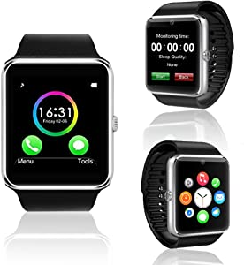 inDigi GSM Unlocked [AT&T/T-Mobile] Watch Phone Touch Screen w/Free Bluetooth Headset + microSD 32GB