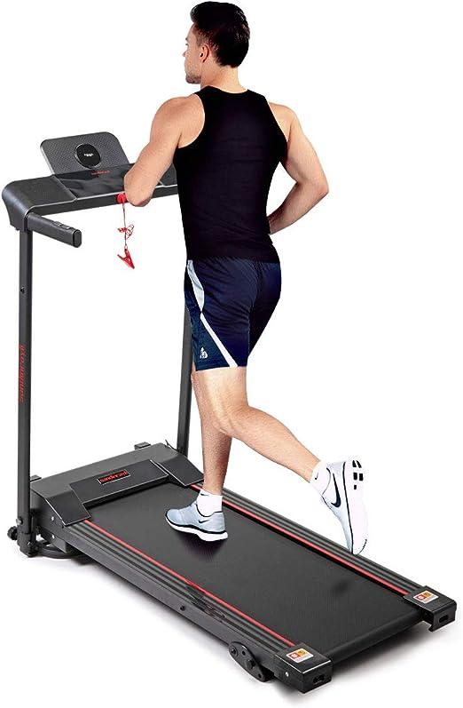 Thegreatshopman Folding Electric Treadmill w/LED