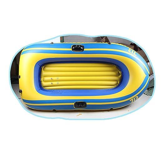 Hinchable Kayak, Juego De Botes Inflables con Remos Y Bomba, Bote ...