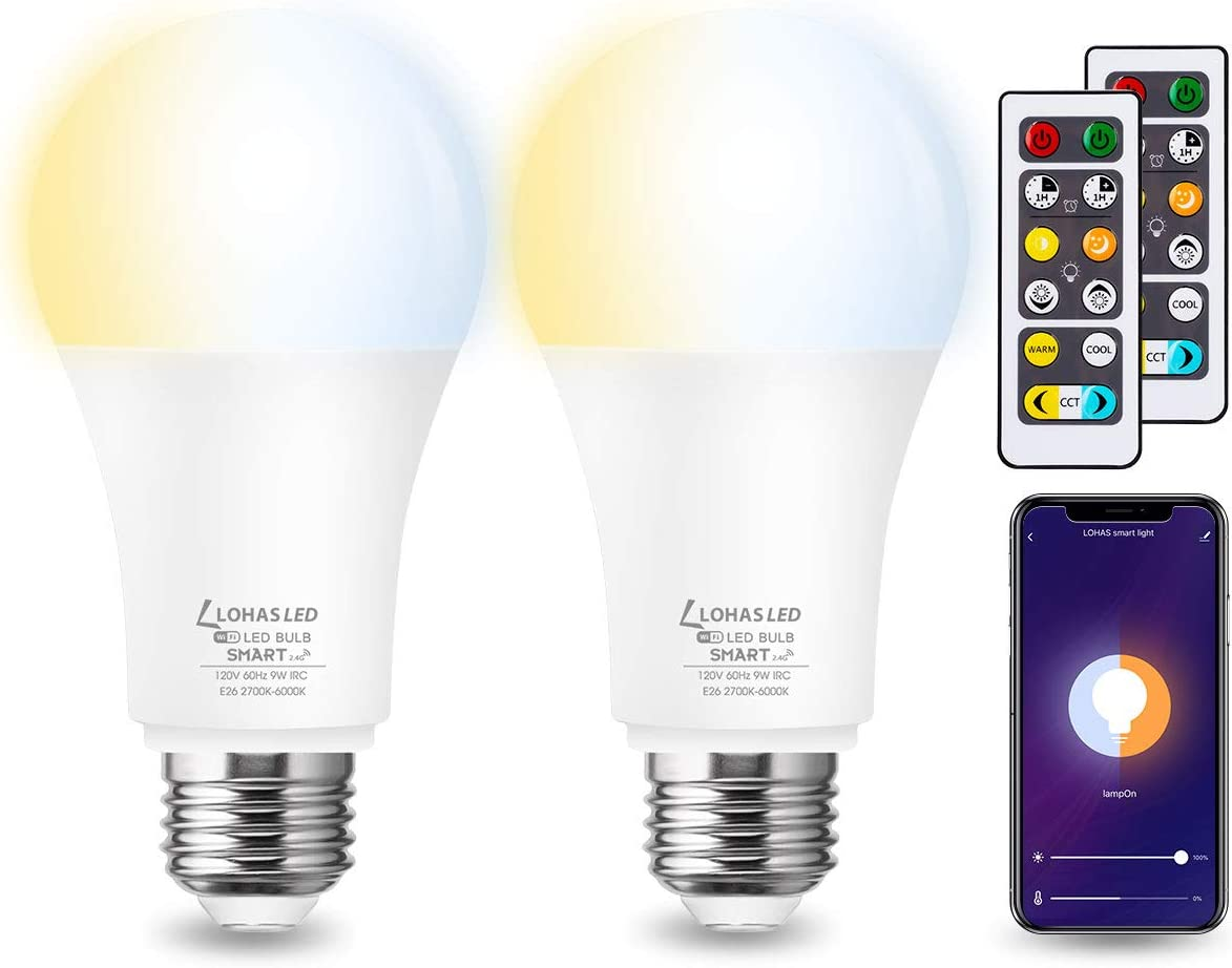 LOHAS Smart LED Light Bulb