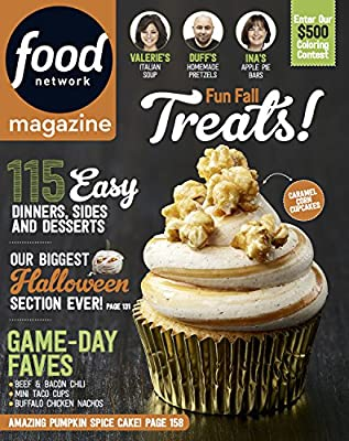 Food Network October 2017