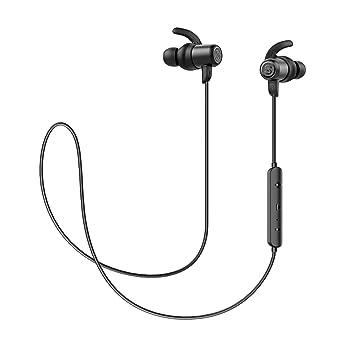 40ffd888fb1 SoundPEATS Bluetooth Earphones IPX6 Waterproof Built in Mic In Ear Earbuds,  Lightweight Sport Magnetic Bluetooth