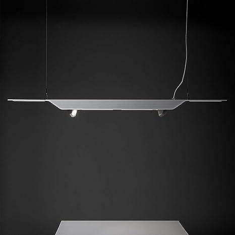 WFWT - Lámpara colgante LED regulable, lámpara de techo, 60 ...