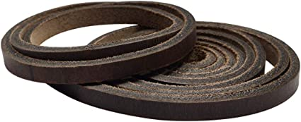0.25 in. Wide Long for Craft Workshop Handmade :: Bourbon Brown Thick Leather Strong Strap Hide /& Drink 60 in. 3.5mm Thick Cord Braiding String Heavy Weight