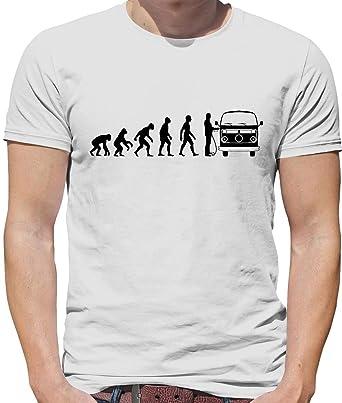 Dressdown T Shirt Evolution Of Man Homme à La Fenêtre Dun
