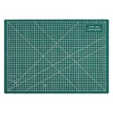 ironing and cutting board - LeaningTech LTC-AX Self Healing A4 Cutting Mat 3-Ply Single Sided Non Slip Green Great for Scrapbooking, Quilting, Sewing and all Arts & Crafts Projects