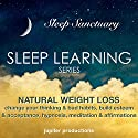 Natural Weight Loss, Change Your Thinking & Bad Habits, Build Esteem & Acceptance: Sleep Learning, Hypnosis, Meditation & Affirmations Speech by  Jupiter Productions Narrated by Anna Thompson