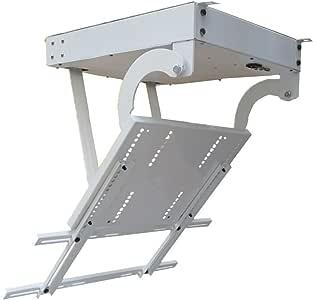 BAOSHISHAN - Percha de techo para televisor de 50 a 70 pulgadas, con soporte eléctrico para montaje en televisor, elevación de TV motorizada, posicionamiento electrónico: Amazon.es: Bricolaje y herramientas
