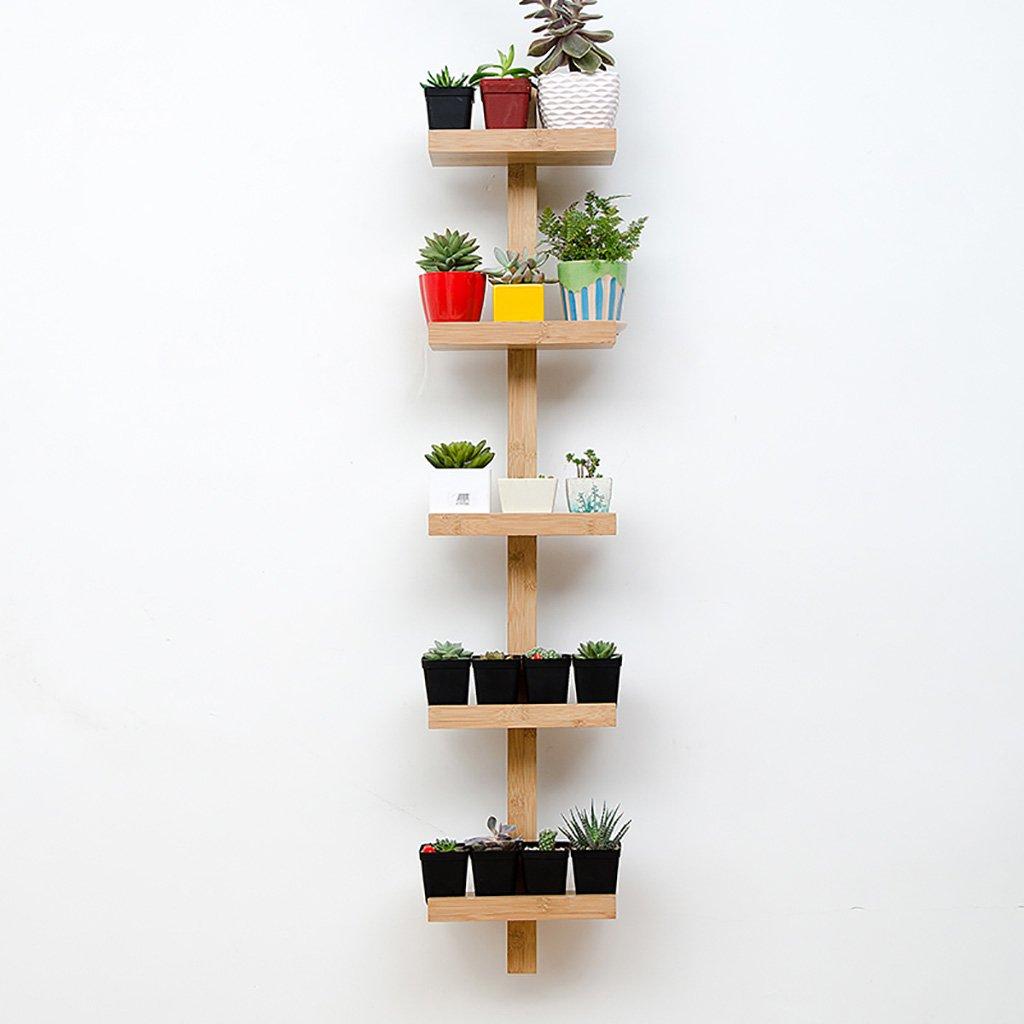 123cm JH Wand-Lagerregal Modernes minimalistisches Wanddekorationsregallebenswohnungswandwand-Worttrennregal der Massivholzwand stapelt (größe   123cm)