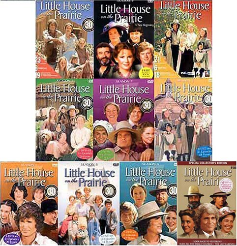Little House on the Prairie Seasons 1 - 9 and Special Collector's Edition Movies (10 Pack) by LIONSGATE