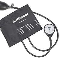 Riester - Mobile Aneroid Sphygmomanometer exacta Metal Latex Free - - Black