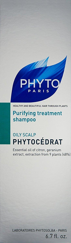 PHYTO PHYTOCÉDRAT Purifying Treatment Shampoo, 6.7 fl. oz.