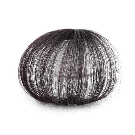mini peluca/invisible sin costuras pieza de la extensión del pelo-A