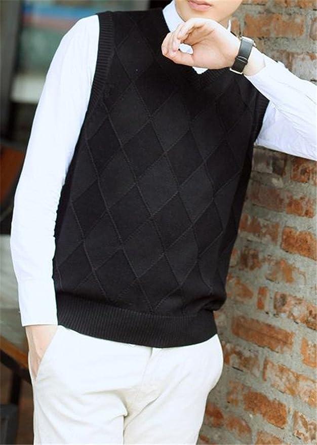 Etecredpow Mens Casual Fleece Pure Colour Sleeveless Down Puffer Jackets Vest