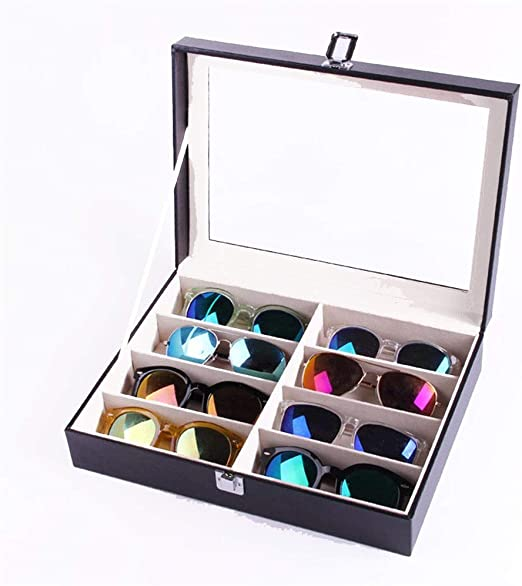 A/N Caja De Almacenamiento De Gafa Gafas Caja de Almacenamiento 8 ...