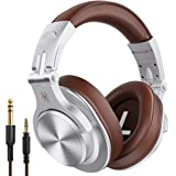 OneOdio A70 Bluetooth Over Ear Headphones, Studio Headphones with Shareport, Foldable, Wired and Wireless Professional Record
