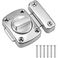 Kissral Lock voor Deur Latch RVS Lock Hasp Bout voor Cupboard Gate Outdoors Slaapkamer Voordeur Van toepassing op…