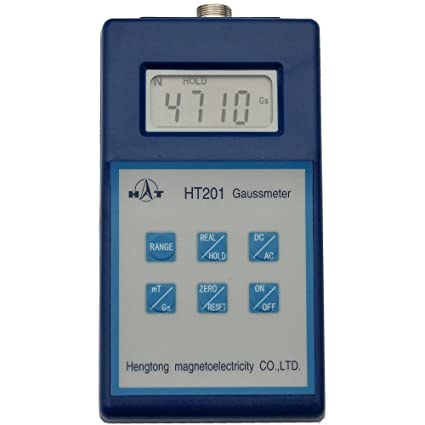 Tesla gauss Meter Tester Digital Magnetic Flux meter Gauss meter