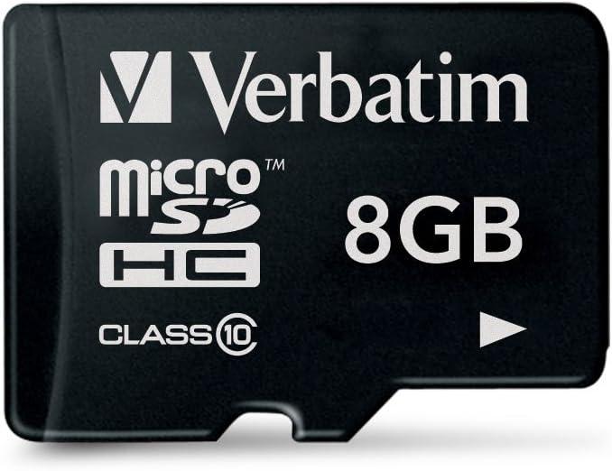 Verbatim 44012 8 GB microSDHC Klasse 10 Speicherkarte