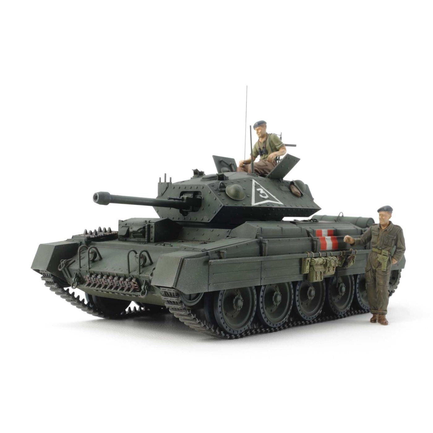 Tamiya America, Inc 1 35 British Mk.VI Crusader Mk.III Cruiser Tank, TAM37025