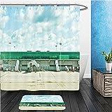 Beshowereb Bath Suit: ShowerCurtian & Doormat A modern Review and Comparison