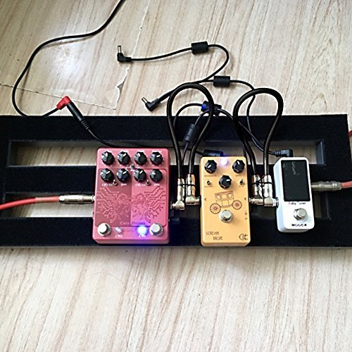 guitar pedals patch cables vandesail professional dual shielded guitar bass effects instrument. Black Bedroom Furniture Sets. Home Design Ideas