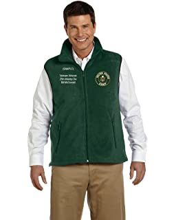 Personalized Adult Leader Patch Vest New Handmade