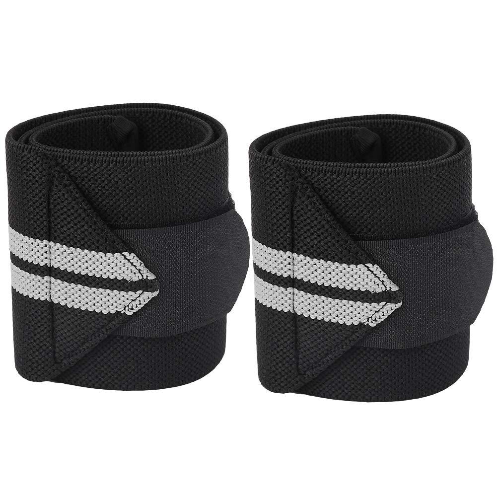 2Pcs Nylon Einstellbare Gewichtheben Wrist Wraps Thumb Support Straps Gym Wickelhandgelenkbandage 2 Farben Mootea Weightlifting Wristband
