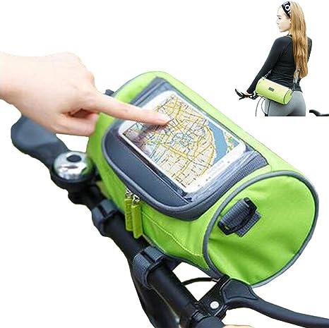 Waterproof bolsas bicicleta de montaña Bicycle alforjas táctil ...