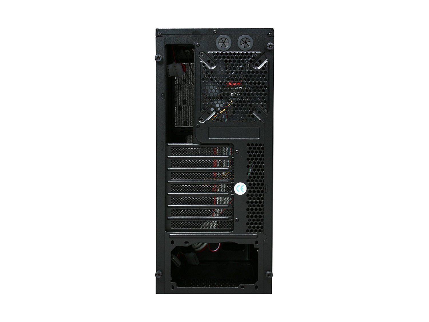 ROSEWILL ATX Mid Tower Gaming Computer Case, Gaming Case with Blue LED for Desktop / PC and 3 Case Fans Pre-Installed, Front I/O Access Ports  (CHALLENGER) by Rosewill (Image #8)