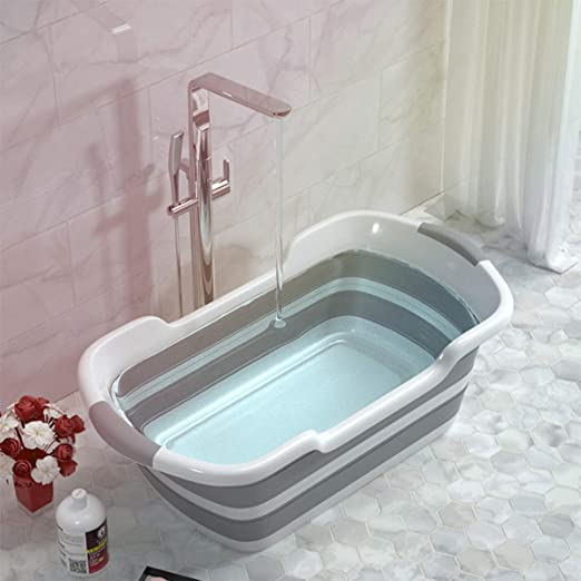 Shower Bañeras portátiles de silicona para mascotas Bañeras para ...