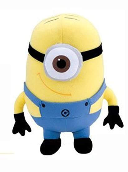 7 Inch Despicable Me One Eye Minion Stuffed Plush Toy