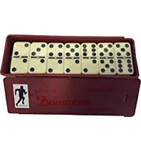 Brand New Club Dominoes Indoor Domino Family Games Plastic Box Set