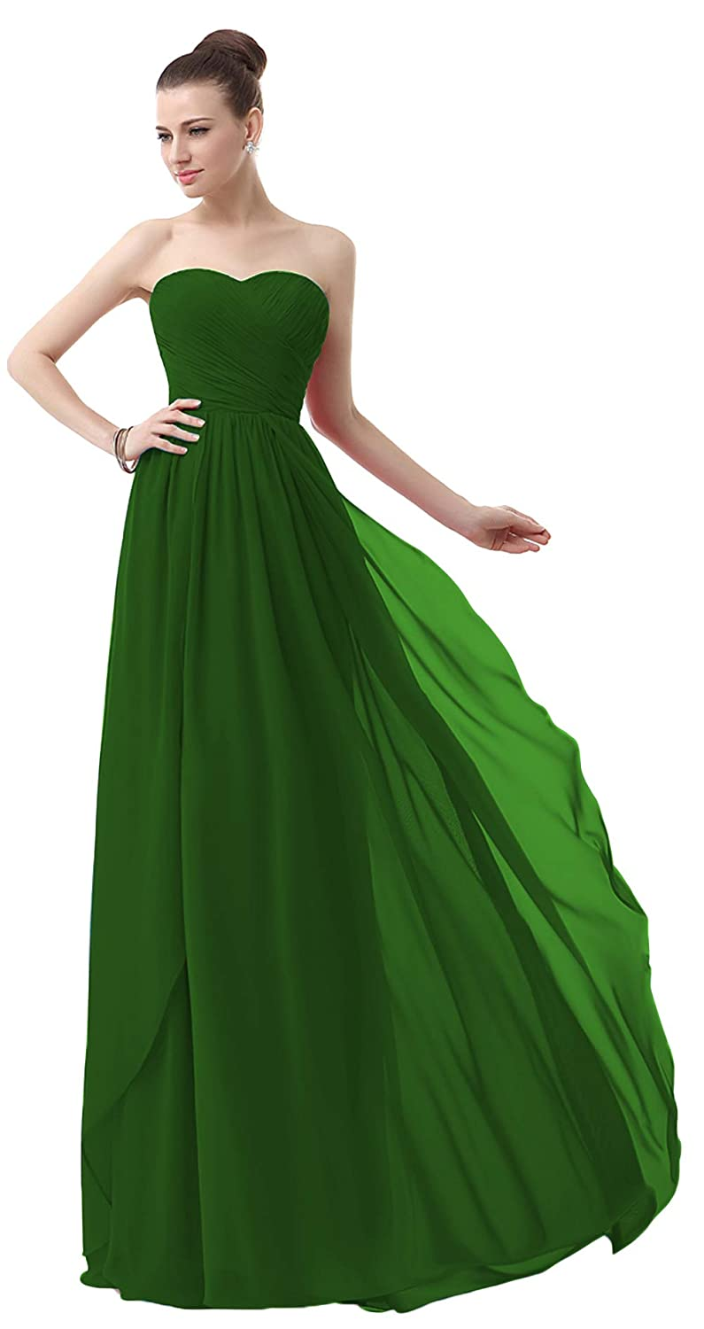 MaliaDress Women Sweetheart Evening Bridesmaid Dress Prom Gown M003LF