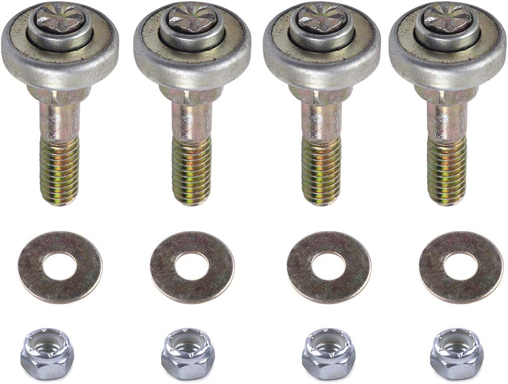 Eastar 4 Set of Furniture Rocking Chair Bearing Connecting Piece Screws Bolts Kits Accessories