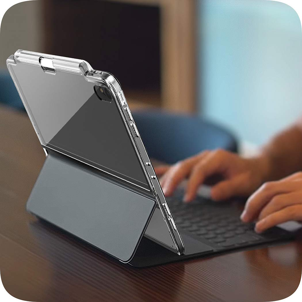 cheaper 56a3c b2982 Details about i-Blason iPad Pro 11/12.9 Case 2018 Smart Keyboard Compatible  Cover+Pencil Slot