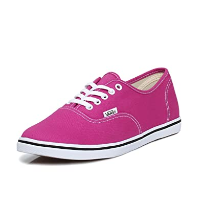 Vans Authentic Lo Pro Fuchsia Trainers-UK 3