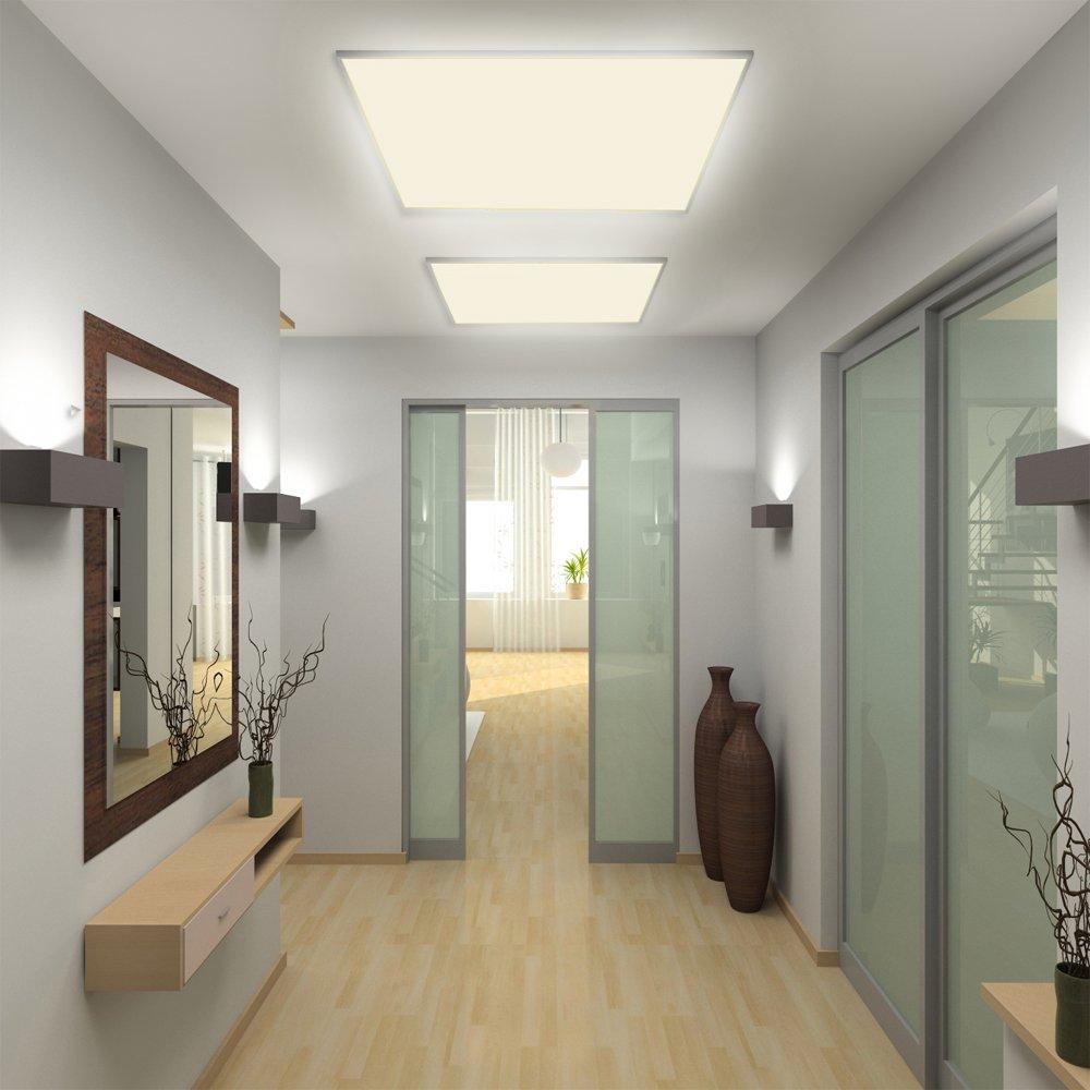 LED Panel Deckenleuchte Wandleuchte 62x62cm 35W 2700 LM Warmweiss ...