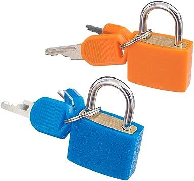 B Baosity Mini Candado Con Llaves Cerradura Pequeña Para Locker Gym Toolbox Hasp Drawer Diary 2 Pack, Brass A Prueba De Intemperie: Amazon.es: Bricolaje y herramientas
