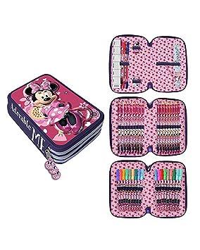 Astro- Minnie Mouse de Disney Estuche plumier con Tres Pisos ...