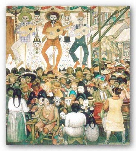 Dia de Muertos, 1924 by Diego Rivera 24