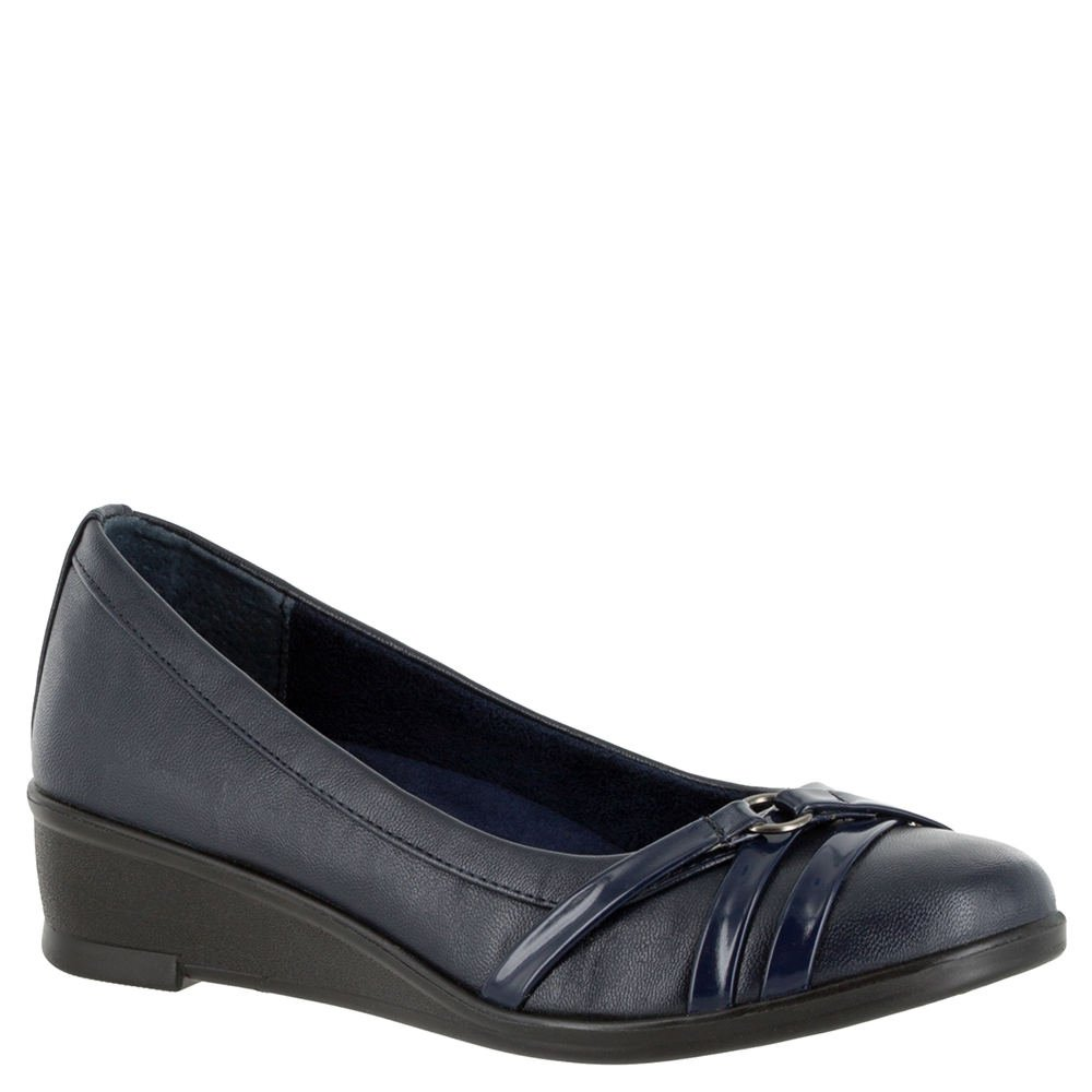 Easy Street Women's Mali Flat B01HSSZ26S 8.5 2A(N) US|Navy Synthetic/Patent