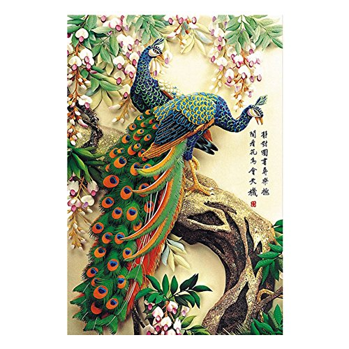 Aesthetic And Beautiful 1000 Piece Jigsaw Puzzle, Peacock