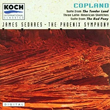 Image result for the tender land the phoenix symphony amazon