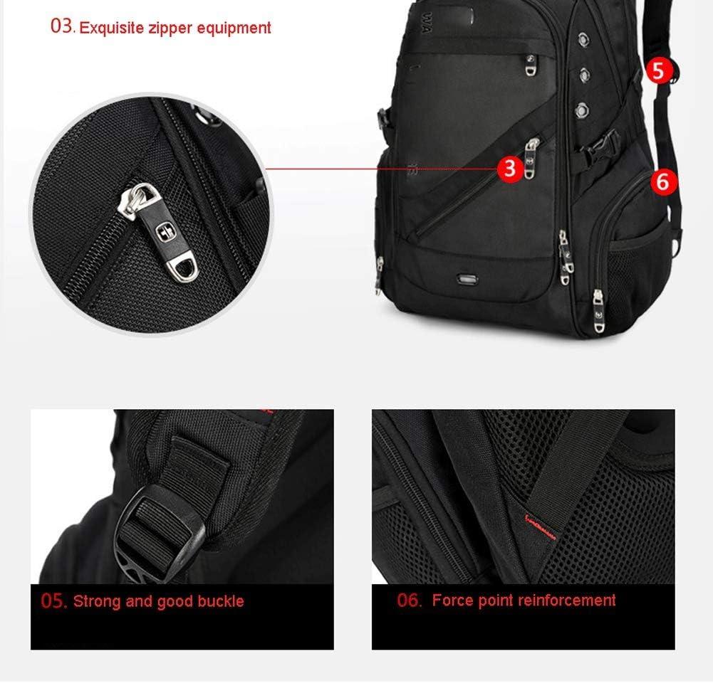 impermeable al aire libre mochila deportiva multifuncional de 17 pulgadas gran capacidad Mochila para excursionismo al aire libre: negocio de la moda hombres de viaje de nylon y bolsa de hombro pa